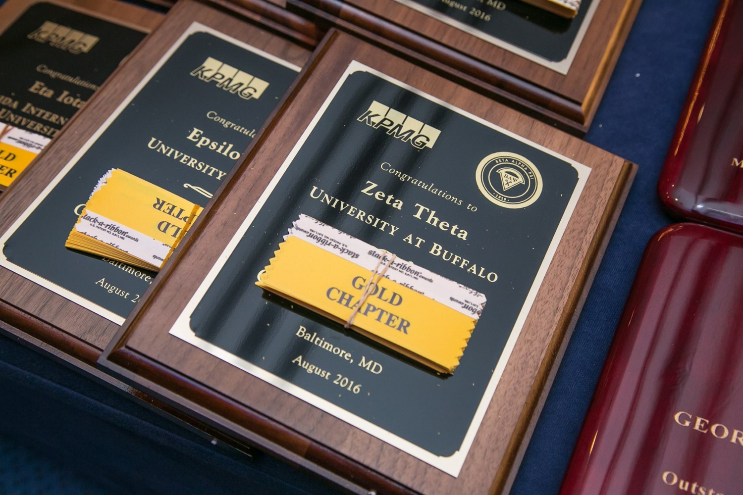 Gold Challenge Plaques