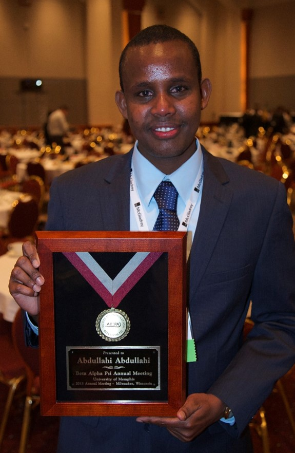 Abdul Abdullahi - University of Memphis 2015