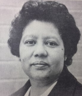 First African-American woman to serve as Beta Alpha Psi President 1990-91, Larzette G. Hale, Brigham Young University