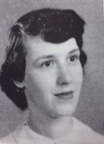 First female member of Beta Alpha Psi, Jeannine Skelton, Omega Chapter, 1950