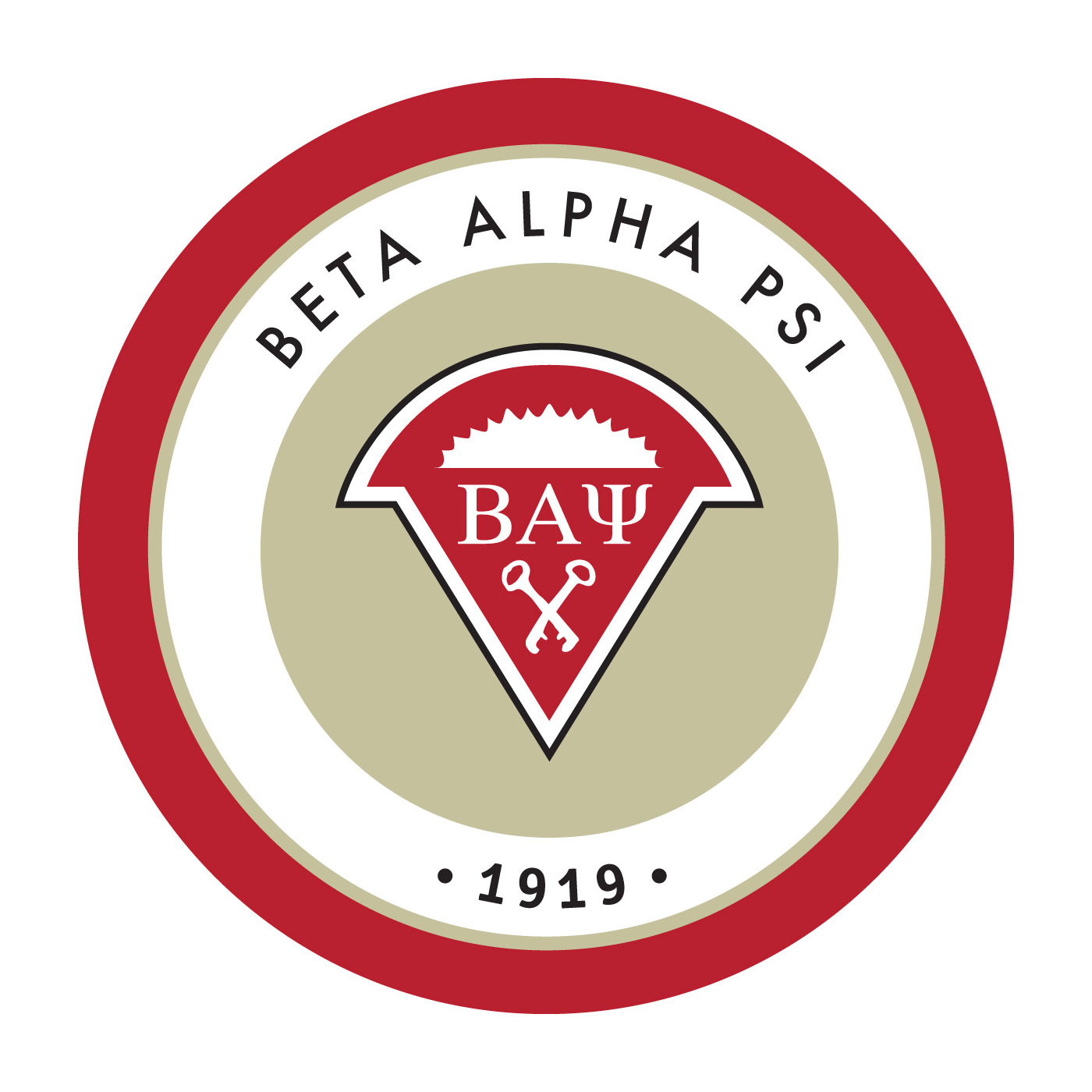 Current Beta Alpha Psi logo